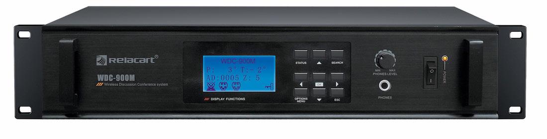 jednostka centralna systemu konferencyjnego Relacart WDC-900