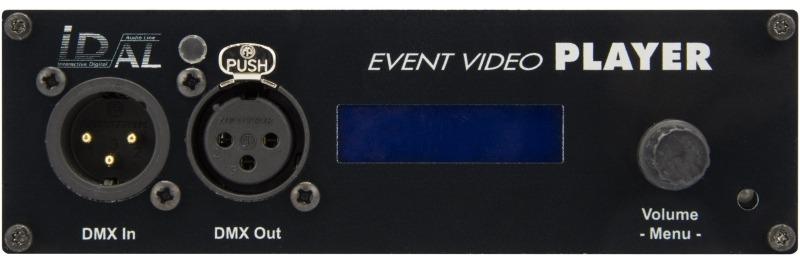 Nowy interaktywny odtwarzacz wideo 4K UHD - sterownik multimedialny DMX Art-Net